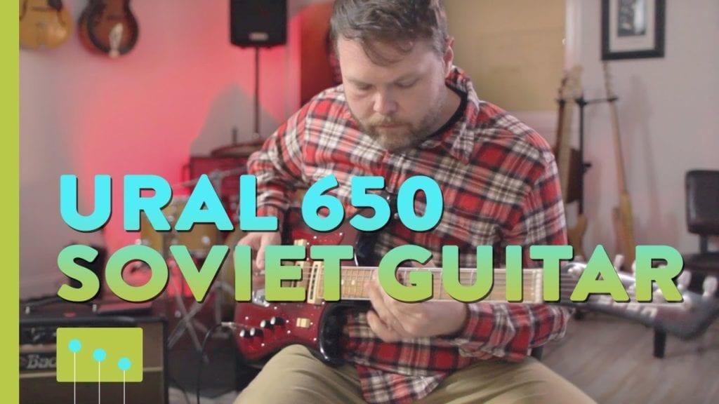 Ural 650 Soviet Guitar